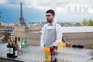 LUX* Resorts & Hôtels / Cocktail dînatoire / Rooftop Paris 8