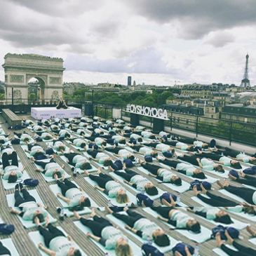 OYSHOYOGA PARIS - ROOFTOP PARIS